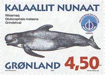 Groenland - 1998. Mammifères marins III - 4,50 kr.  - Multicolore