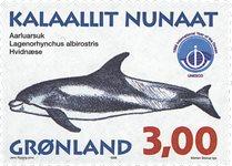 Groenland - 1998. Mammifères marins III - 3,00 kr.  - Multicolore
