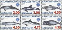 Groenland - 1998. Mammifères marins III - Série complète