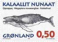 Groenland - 1996. Mammifères marins I - 0,50 kr. -  Multicolore