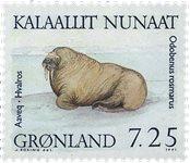 Groenland - 1991. Phoques - 7,25 kr. - Multicolore