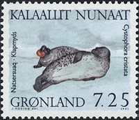 Groenland - 1991. Phoques - 7,25 kr. - Multicolore