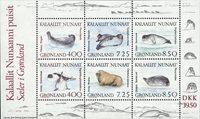 Groenland - 1991. Bloc-feuillet