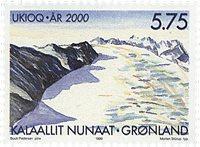 Grønland - Grønland år 2000 - 5,75 kr. - Flerfarvet