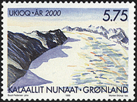 Greenland - Year 2000 - 5,75 kr - Multicoloured