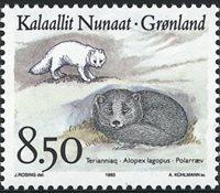 Groenland - 1993. Faune de l´Arctique - 8,50 kr. -  Multicolore