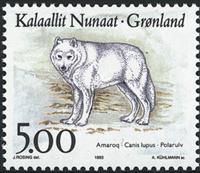 Groenland - 1993. Faune de l´Arctique - 5,00 kr. -  Multicolore