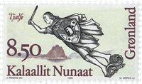 Groenland - 1995. Figures de proues II - 8,50 kr. - Multicolore