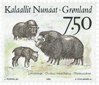 Groenland - 1995. Faune nordique - 7,50 kr. - Multicolore