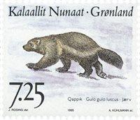 Grønland - 1995. Landdyr i Grønland II - 7,25 kr. - Flerfarvet