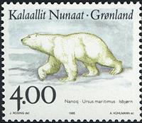 Groenland - 1995. Faune nordique - 4,00 kr. - Multicolore