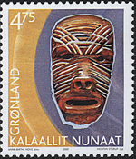 Grønland - 2002. Grønlands arv og kultur III - 4,75 kr. - Flerfarvet