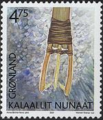 Grønland - 2001. Grønlands arv og kultur II - 4,75  kr. - Flerfarvet