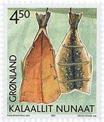 Groenland - 2001. Patrimoine culturel II - 4,50 kr. - Multicolore