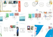 Netherlands - Year set FDC 1989