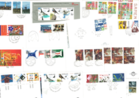 1994 FDC Netherlands complete