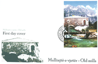 Kosovo - Møller - FDC med miniark
