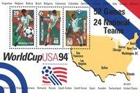 Etats-Unis - Coupe du Mond de football 1994 - Bloc-feuillet neuf