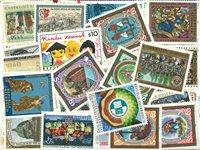 Autriche timbres Schilling - 114 diff.