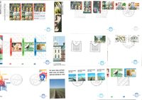 1981 FDC Netherlands complete