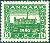 Danemark - Typographie - AFA 115