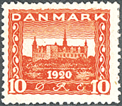 Danemark - Typographie AFA 112
