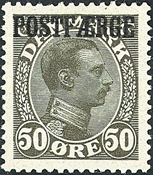 Danmark - Postfærge - AFA nr. DPF7
