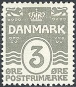 Danmark - AFA nr. 79 - Bogtryk