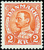 Danmark  Stålstik AFA 212 *