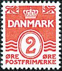 Danmark - AFA nr. 197 - Stålstik
