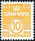 Danmark - AFA nr. 202 - Stålstik