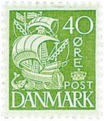 Danmark stålstik - AFA 208