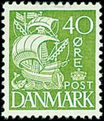 Danmark stålstik - AFA nr. 208