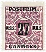 Danmark  Bogtryk AFA 89