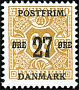 Denmark - AFA no. 94 - Letter Press