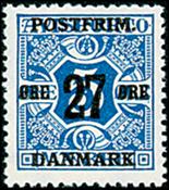 Denmark - AFA no. 86 - Letter Press