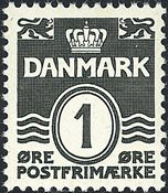 Danmark - AFA 196 - Postfrisk