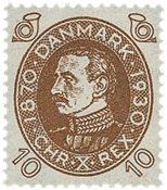 Danmark  Bogtryk AFA 189