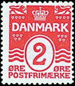 Denmark - AFA no. 78 - Letter Press