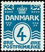 Danmark - AFA nr. 80 - Bogtryk