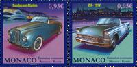 Monaco - Biler - Postfrisk sæt 2v