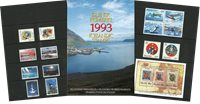 Iceland - Year pack 1993