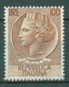 Italia 1954 - Siracusana Alto valore 100 L. - 1 val. nuovo