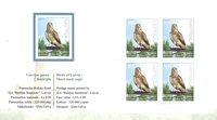 Lettonie - Oiseaux de proie - Carnet neuf