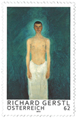 Austria - Richard Gerstl (1) * - Mint stamp