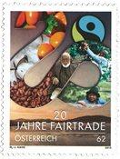 Østrig - Fairtrade - Postfrisk frimærke