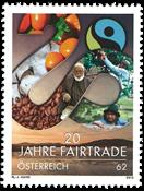 Autriche - Fairtrade - Timbre neuf