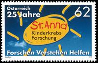 Autriche - Recherche cancer - Timbre neuf
