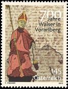 Østrig - Walser i Vorarlberg - Postfrisk frimærke