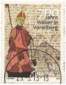 Østrig - Walser i Vorarlberg - Stemplet frimærke